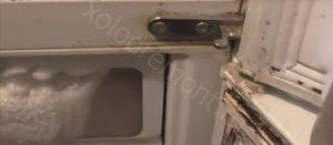 Лед в морозилке холодильника LG -GC-309B - ytechka-LG (6).jpg