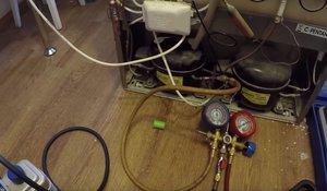 Замена фильтра осушителя, заправка Аристон Хотпоинт - arist12.jpg