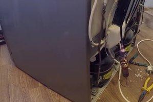 Замена фильтра осушителя, заправка холодильника Аристон Хотпоинт - arist11.jpg