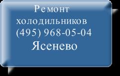 Ремонт холодильников Ясенево на дому не дорого